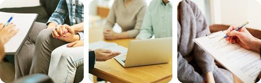 浮気・不倫問題に強い専門の夫婦カウンセラーが親身になってお話しを伺い、問題解決へサポートいたします。