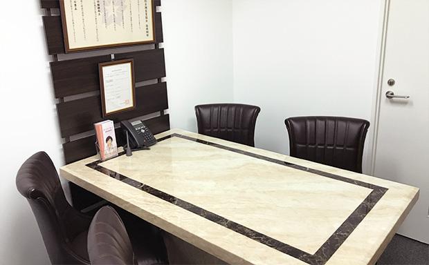 岡山県の探偵・興信所 岡山店の相談室の写真