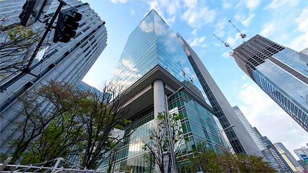東京本部の外観写真