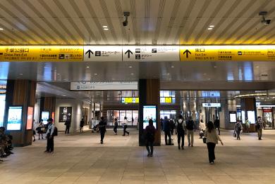 千葉店への道順1
