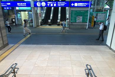 千葉店への道順3