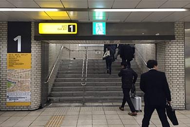 福岡店への道順2