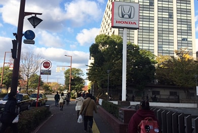 福岡店への道順4