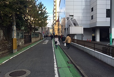 福岡店への道順5