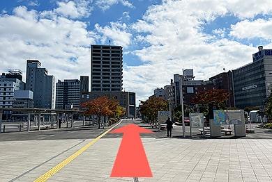 函館支店への道順2