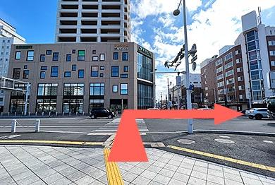 函館支店への道順3