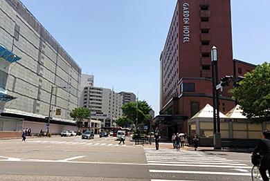 金沢店への道順3