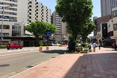 金沢店への道順4