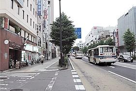 水戸支店への道順4