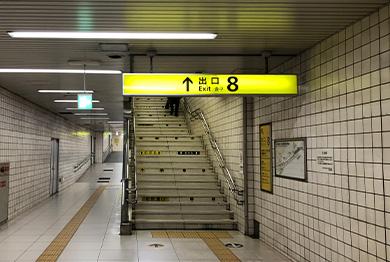 大阪店への道順3