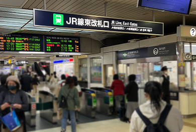 札幌店への道順1