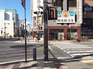 高松店への道順3