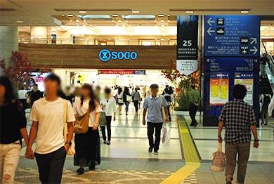 横浜店への道順4